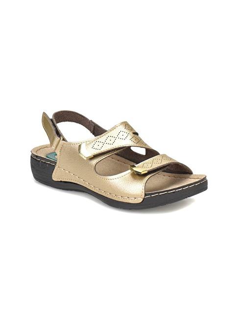 Polaris Sandalet Altın